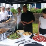 Gourmet Traditional Hog Roast Served with Freshly Prepared Salads