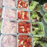 Homemade Coleslaw And Salad Accompaniments