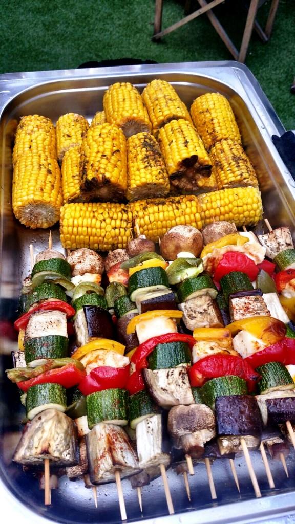 BBQ - Vegetarian Skewers